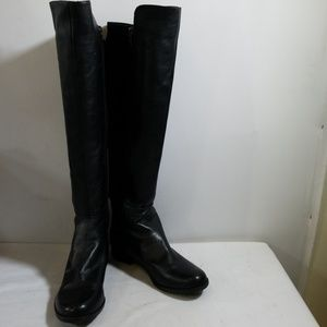 Marc Fisher Black Over The Knee Boots Size 7M